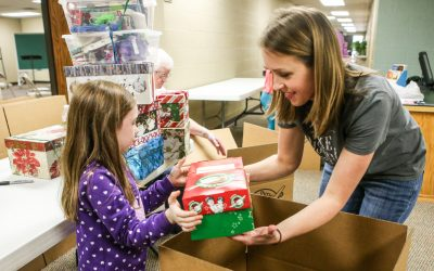 Operation Christmas Child Serving Opportunities