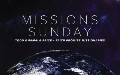 Missions Sunday September 27
