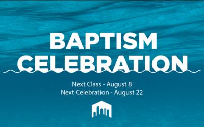 Baptism Class and Celebration
