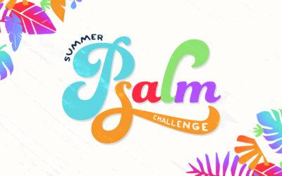 Summer Psalm Challenge