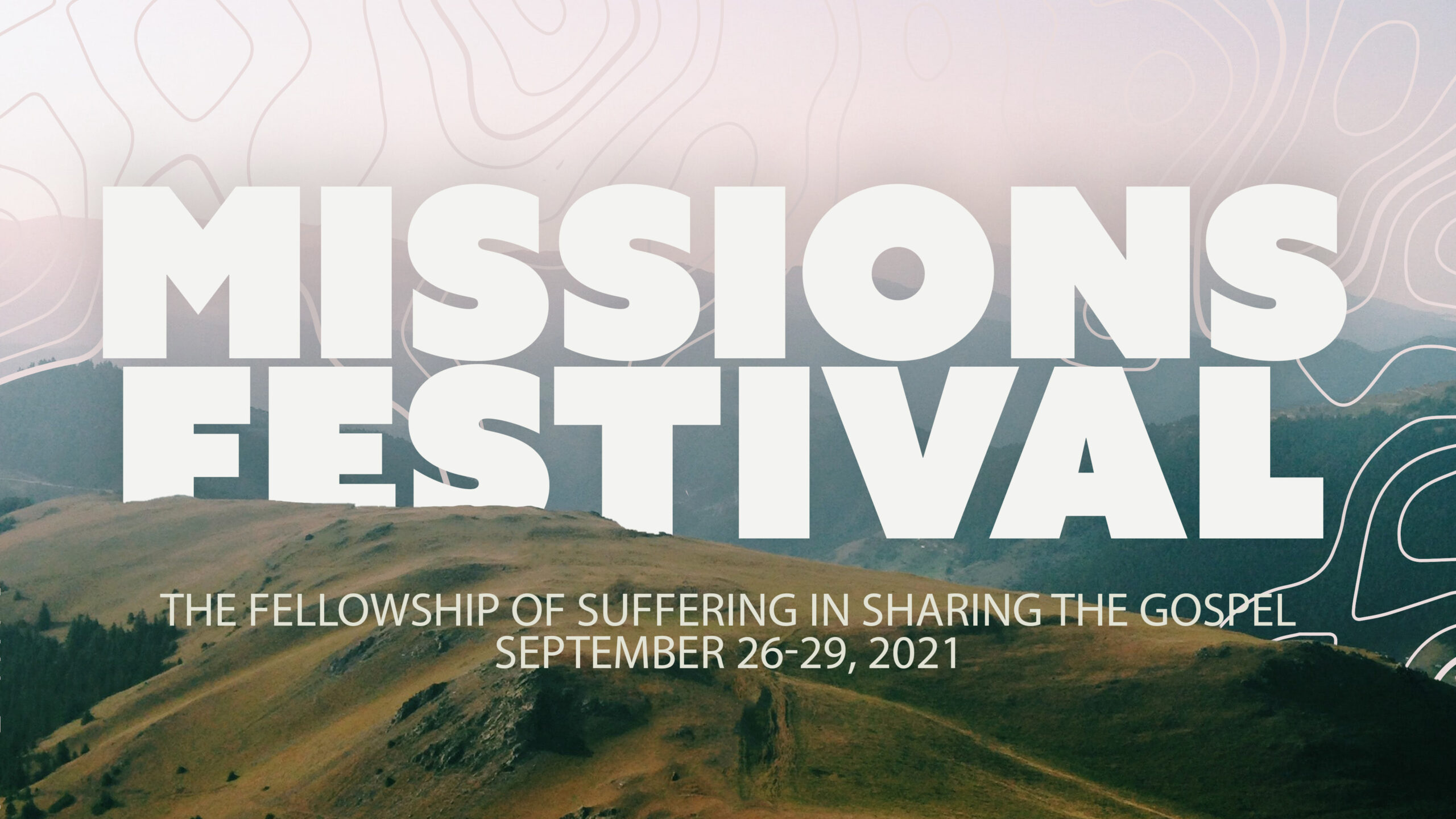 Missions Festival 2021 Schedule