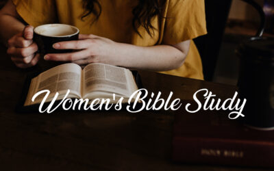 Women's Bible Studies Have Started