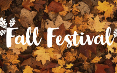 Get Ready for the Fall Festival