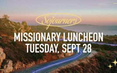 Sojourners to Host Missionary Luncheon